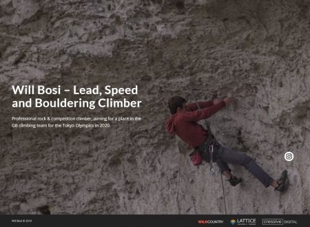 Will Bosi - Speed Climber